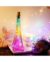 Eiffel Tower LED Bottle Lamp