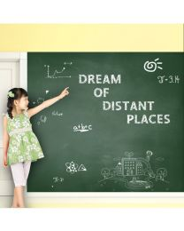Greenboard Wall Sticker with 5 Colorful Chalks