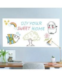 Whiteboard Wall Paper Sticker