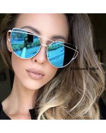 Cat Eye Reflectors Sunglasses