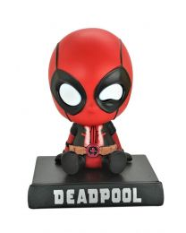 Deadpool Bobblehead with Phone holder