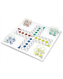 Drinking Ludo Party Game Set