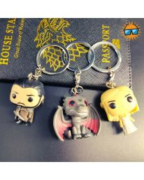 Funko Pop GOT Keychain