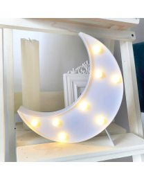 Crescent Moon Lamp Light