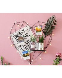 Heart Photo Grid Frame
