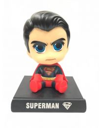 Superman Bobblehead + Phone Holder