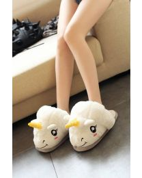 Unicorn Plush Slipper
