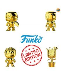 Avengers Funko Pop Bobblehead (Gold Chrome - Limited Edition)