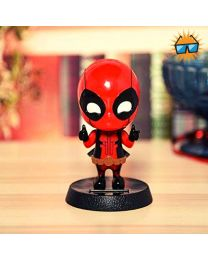 Deadpool Solar Bobblehead