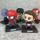 Superhero BobbleHeads + Phone Holder