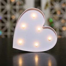 Heart Lamp Light
