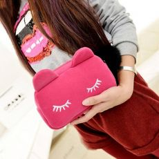Cute Cat Cosmetic Travel Pouch