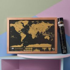 Travel World Scratch Map