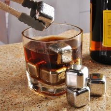 Stainless Steel Whiskey Stones (Pack of 2)