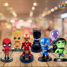 ironman bobblehead groot bobblehead deadpool bobblehead thanos bobblehead hulk bobblehead captain america bobblehead batman bobblehead