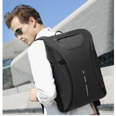 Anti Theft Briefcase Backpack USB Charging Port