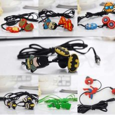 Superhero Earphone with Mic