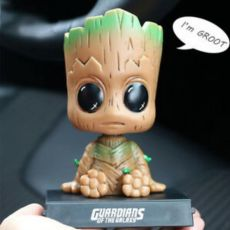 Baby Groot Bobblehead + Phone Holder