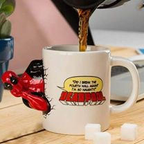 3D Popping Deadpool Mug