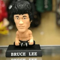 Bruce Lee Bobblehead + Phone Holder