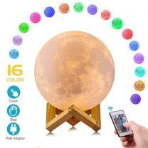 3D Multicolor Moon Lamp