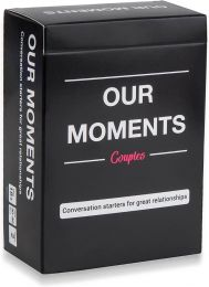 OUR MOMENTS Couples - Fun Conversation Cards Game for Couples