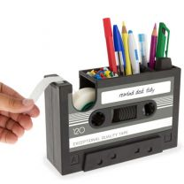 Cassette shaped Stationery Holder