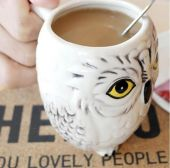 3D Harry Potter Hedwig Mug
